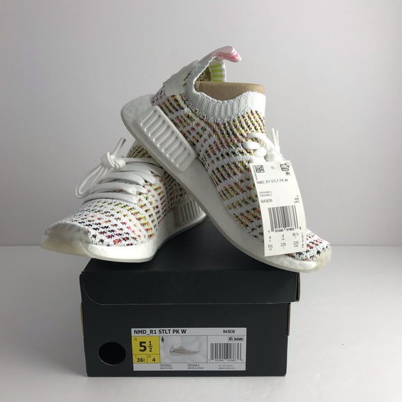 73ceb92ade08c NEW ADIDAS NMD R1 STLT primeknit shoes women 5.5